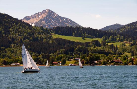 Typical Bavarian Lake