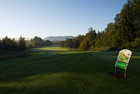 Course With Mountain Views