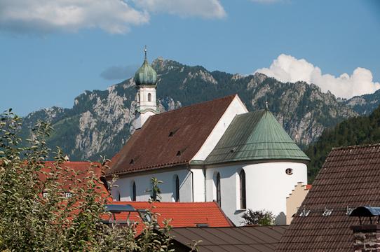Typical Bavarian Church