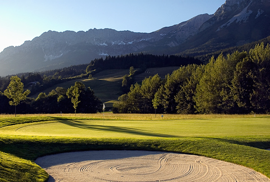 Typical Mountain Golf Course - in the Valley!