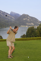 Kevin Teeing Off