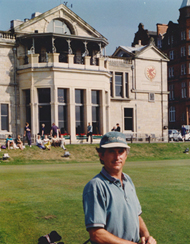 Kevin at St. Andrews